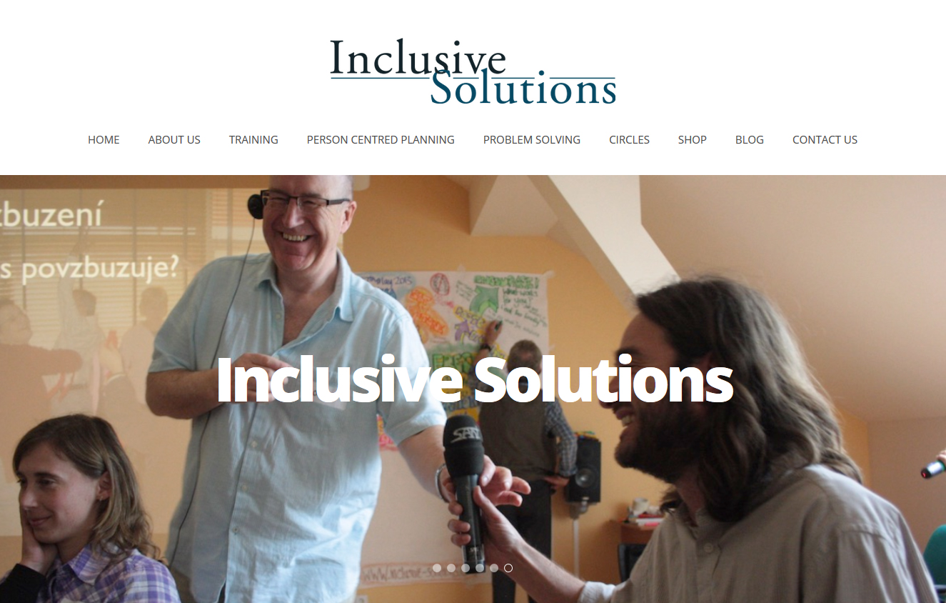 Inclusive Solutions Screenshot
